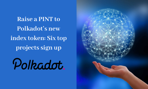Raise a PINT to Polkadot's new index token: Six top projects sign up